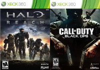 Storm's Adventure with Halo: Reach and Call of Duty: Black Ops