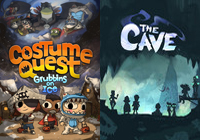 Storm's Adventure with Costume Quest DLC and The Cave